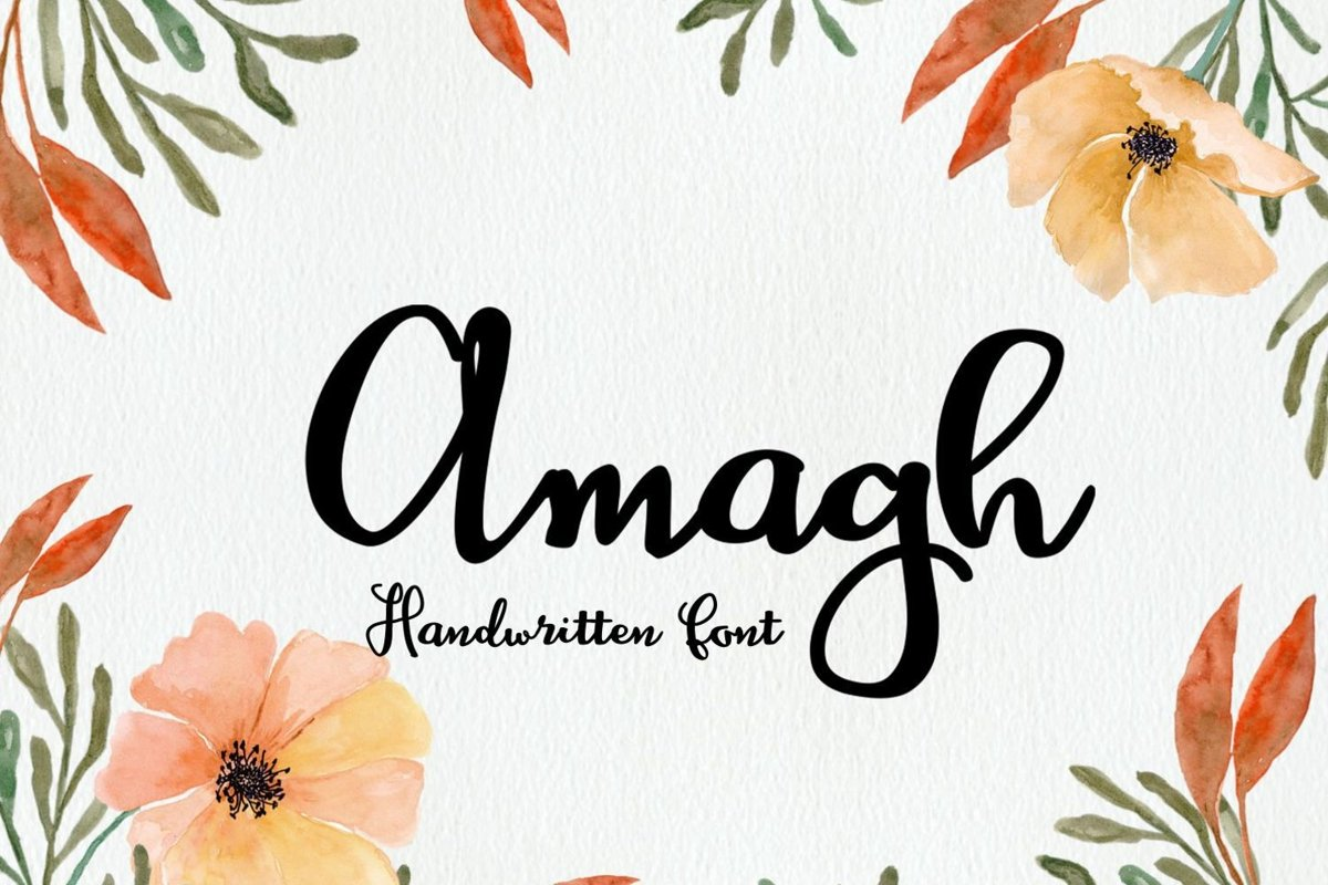 Amagh Font example image 1
