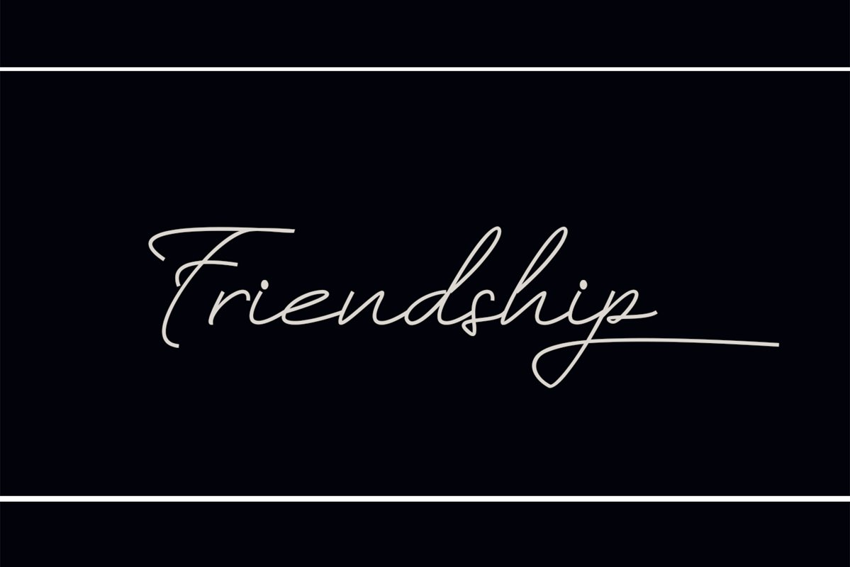 Friendship example image 1