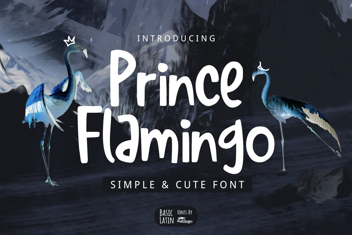 Prince Flamingo Font example image 1