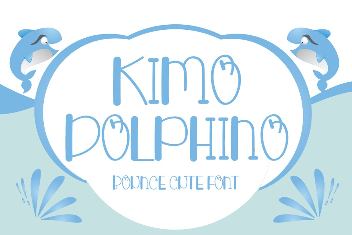 Kimo dolphino - Cute Display Font example image 1