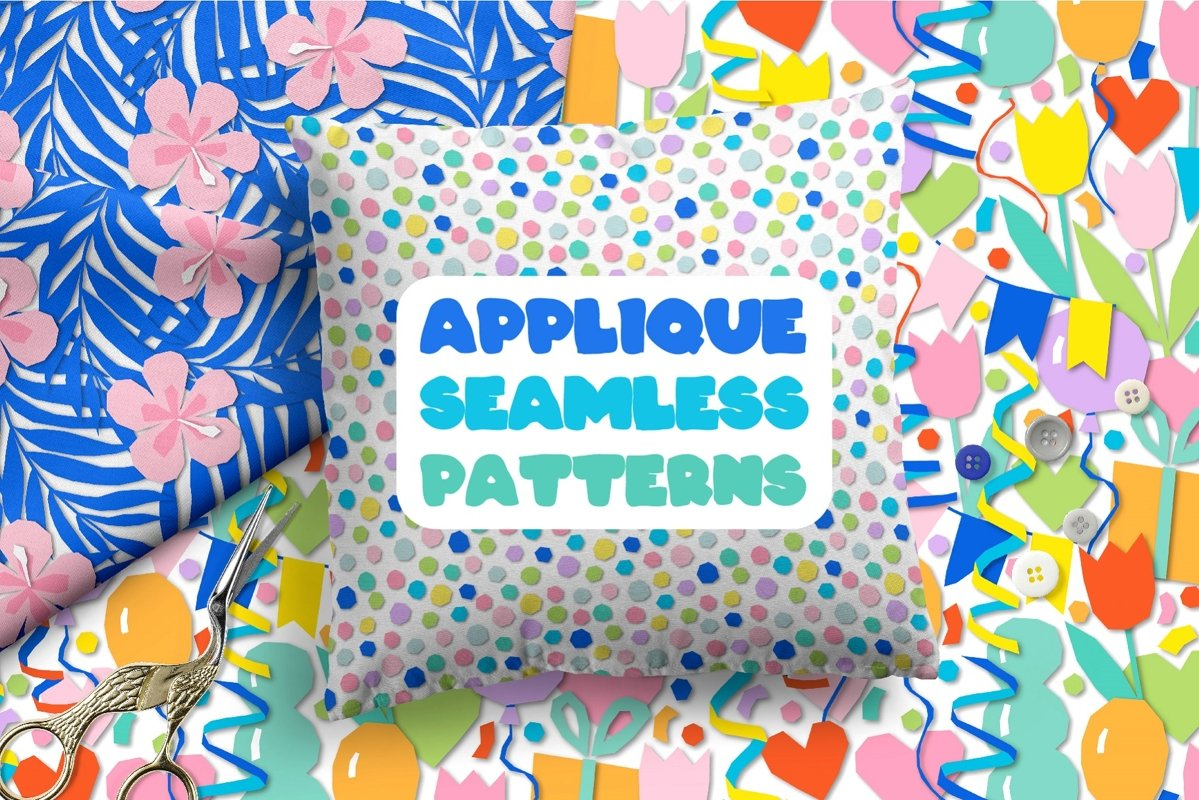Applique. Never stop play! example image 1