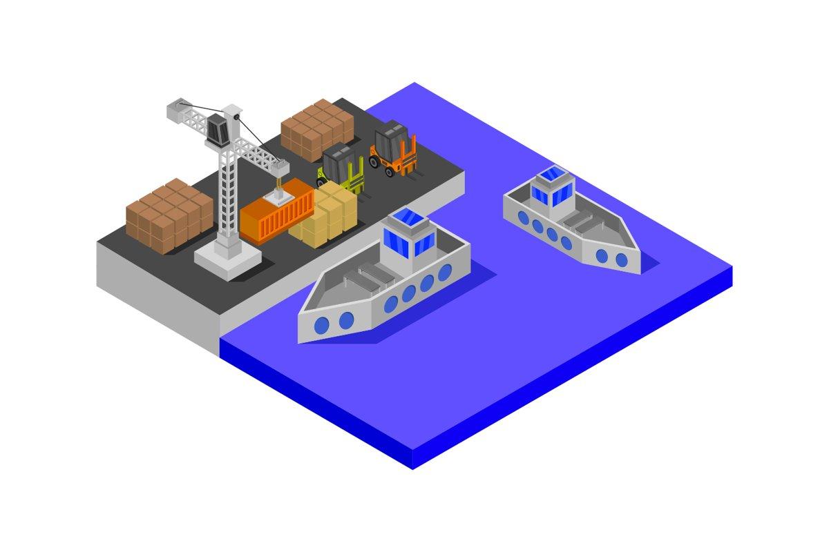 isometric port example image 1