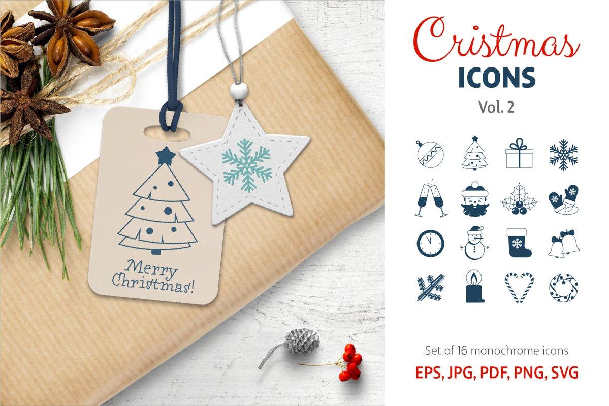 Christmas Icons Vol.2 example image 1