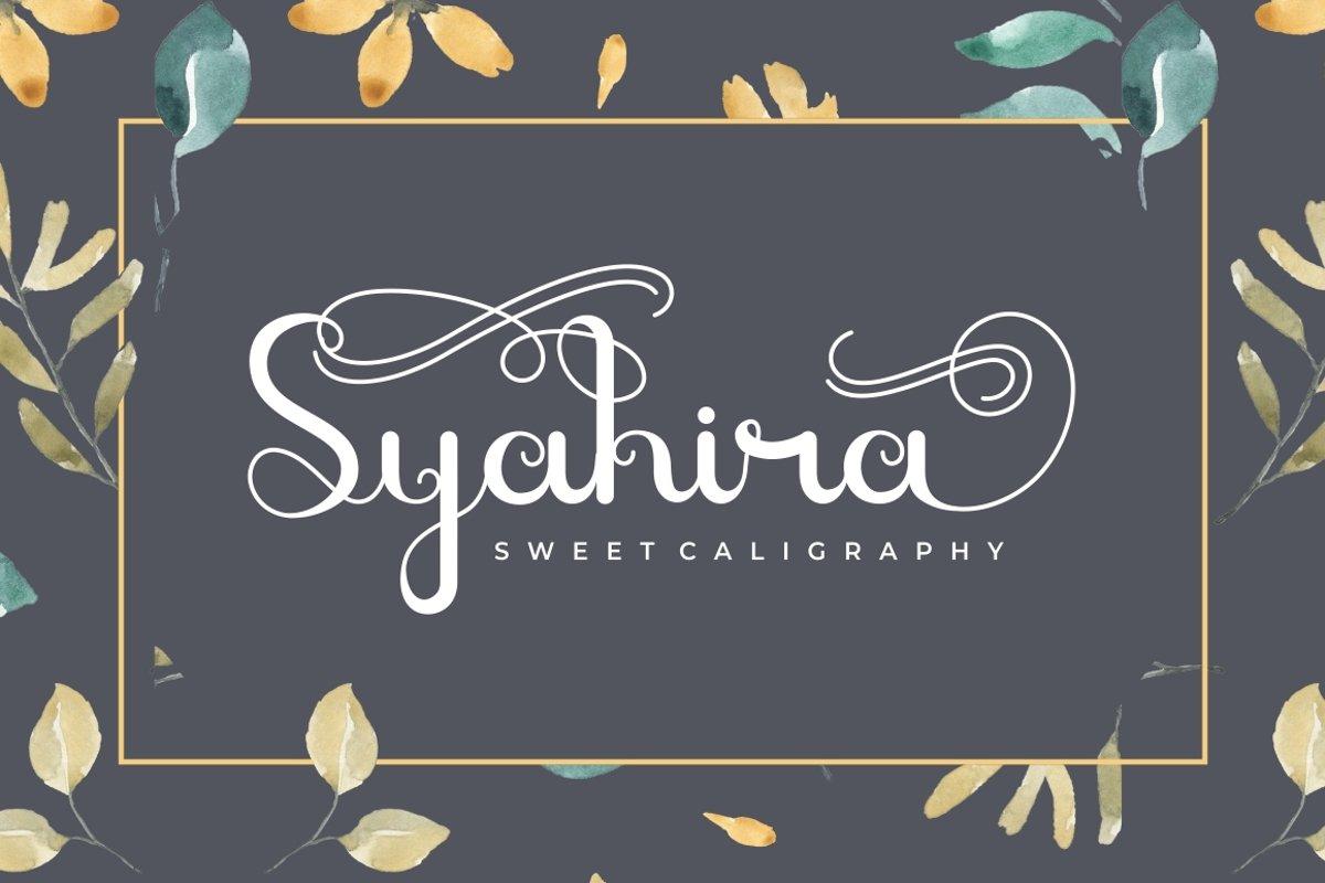 Syahira example image 1
