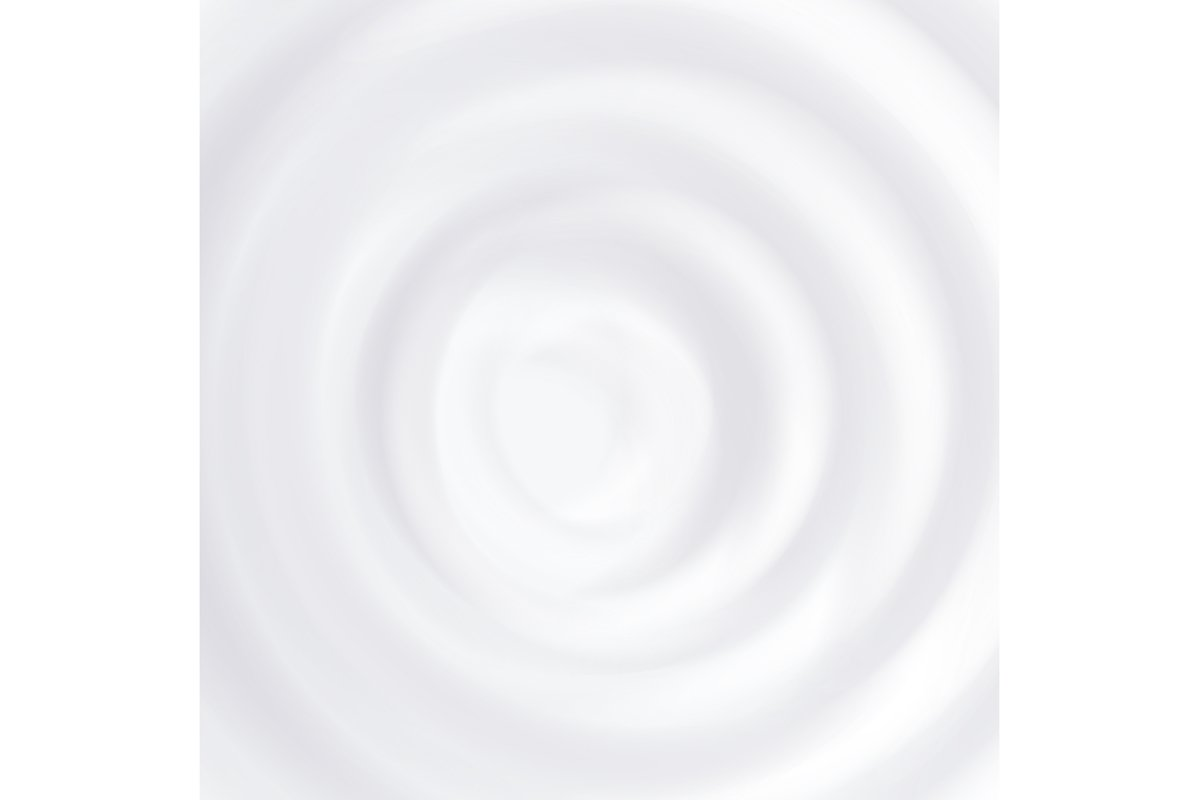 Milk Splash Vector. Clean Circle Waves. Curved Surface. example image 1