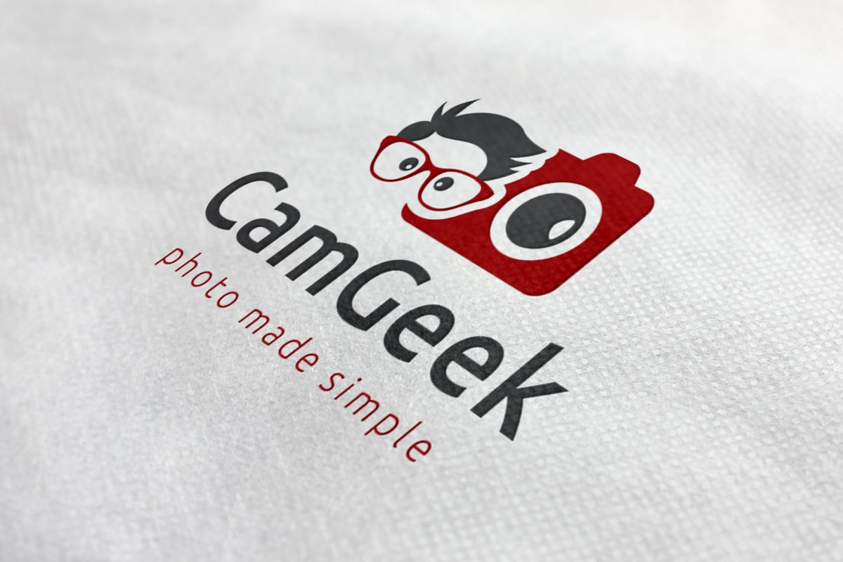 Camera Geek Logo example image 1