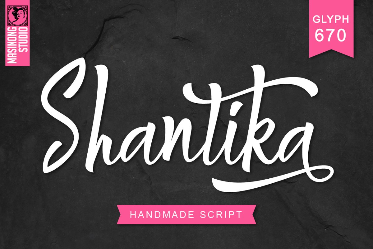 Shantika Script example image 1
