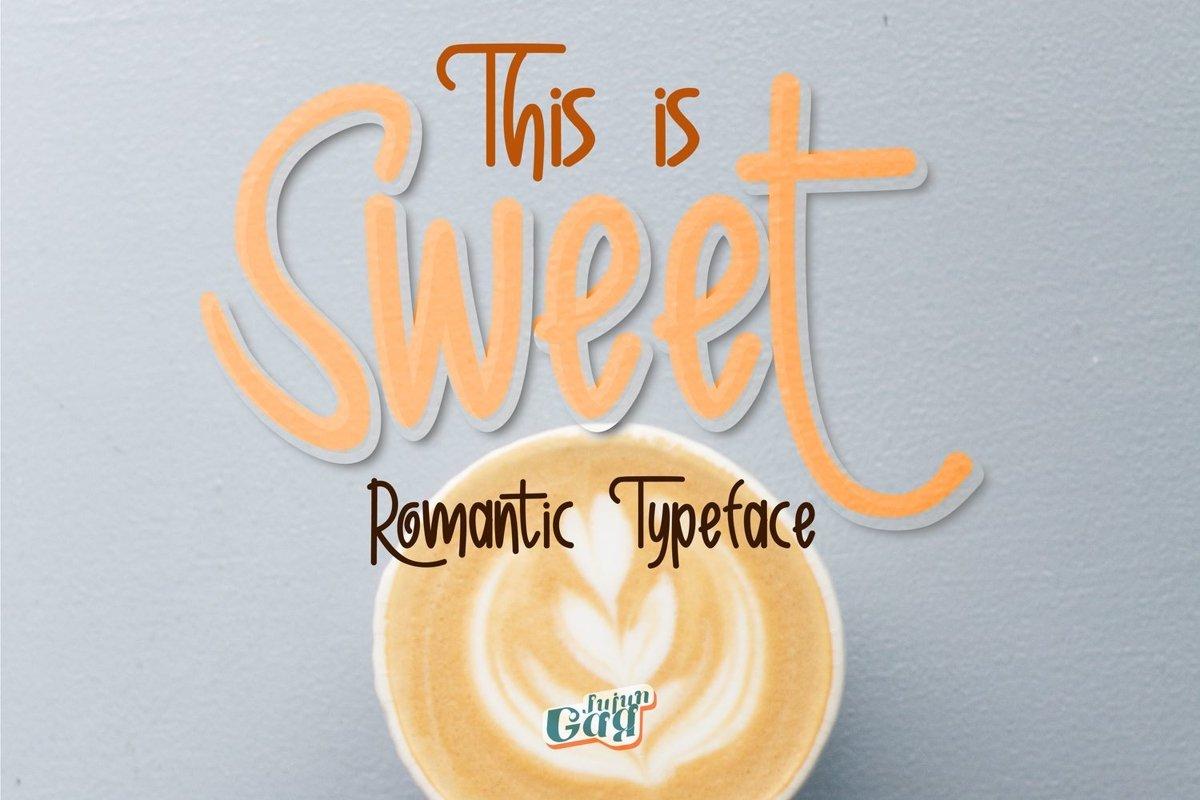 Sweet Romantic Typeface example image 1