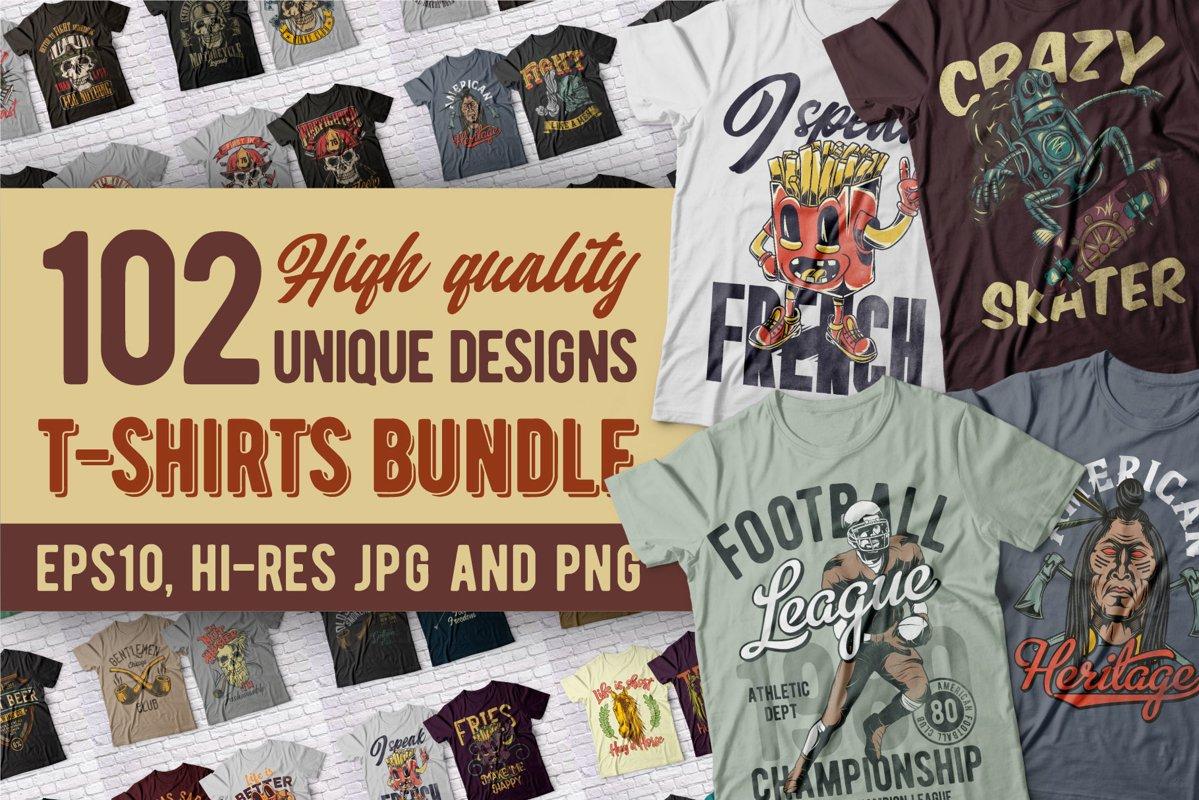Fresh high quality t-shirts BUNDLE Free Download