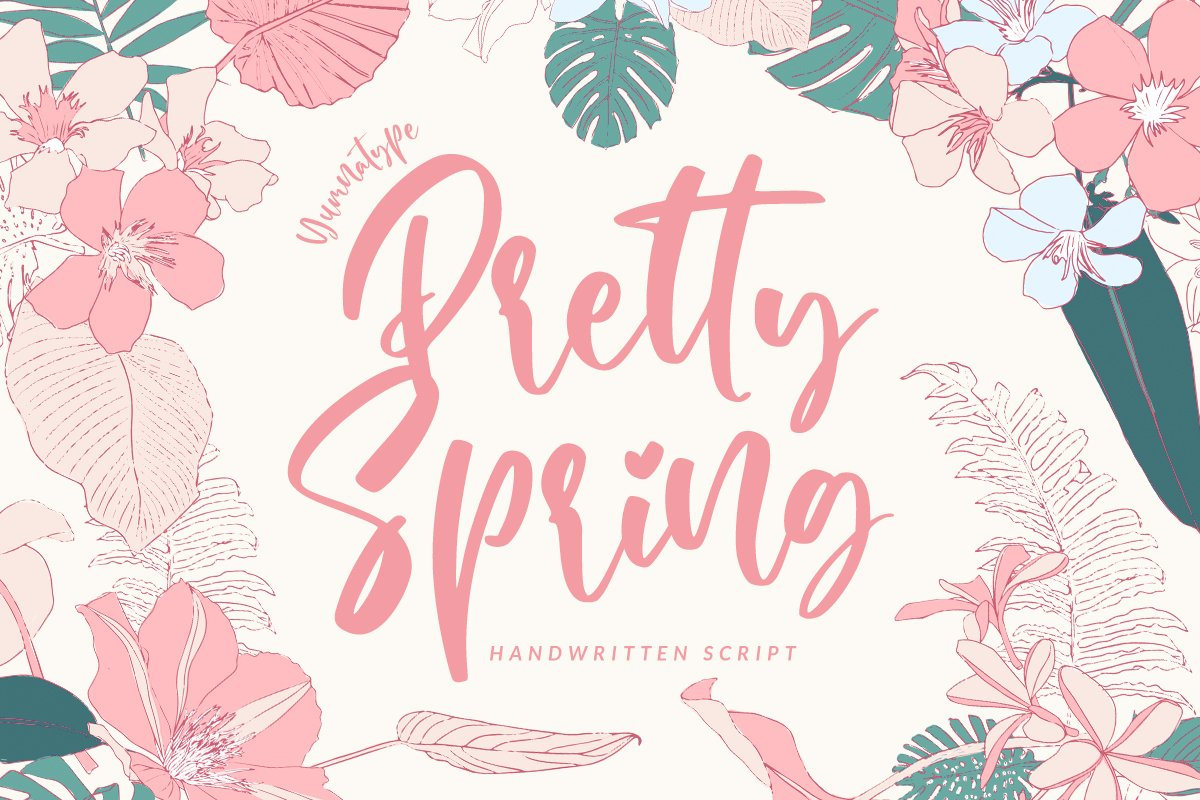 Pretty Spring example image 1