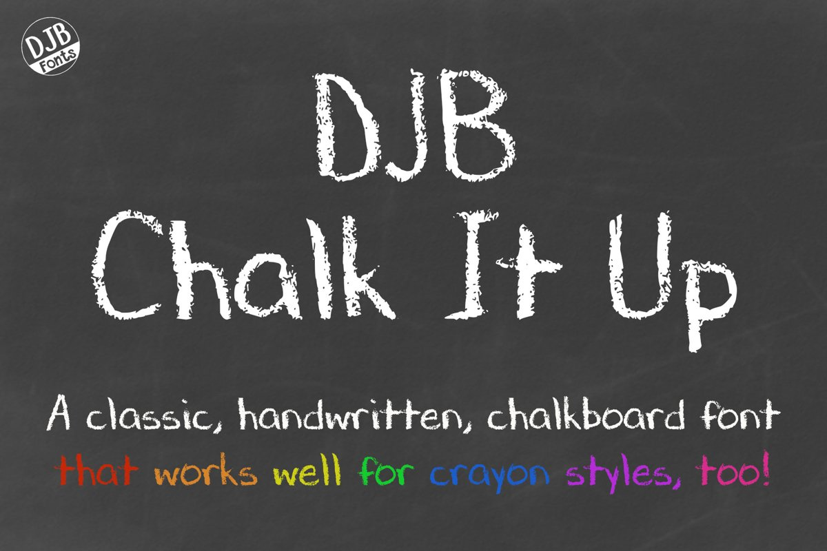 DJB Chalk It Up example image 1