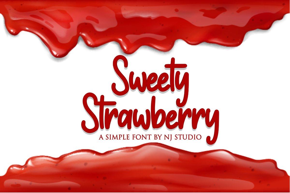 Sweety Strawberry example image 1