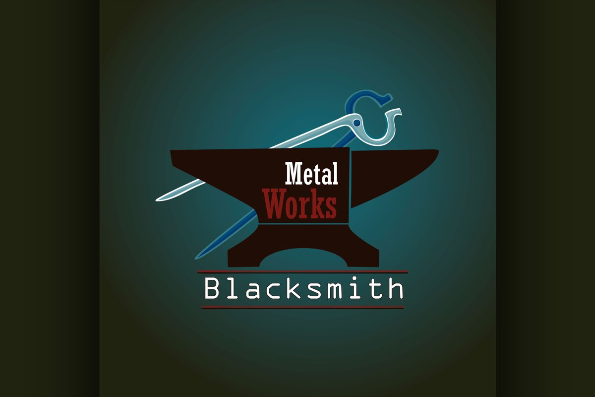 Hand drawn blacksmith labels example image 1