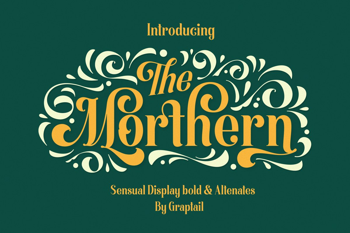 Morthern Font example image 1