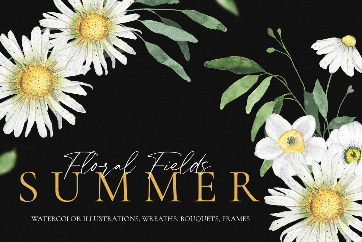Summer Floral Fields collection example image 1