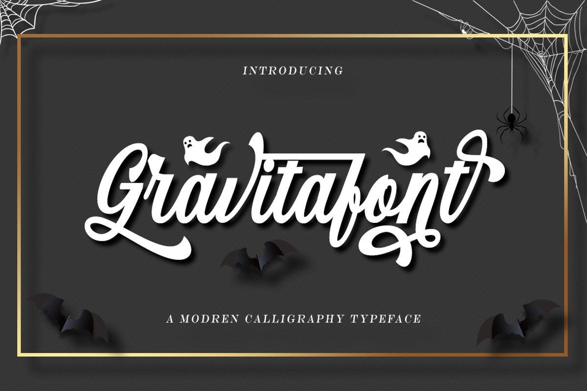 Gravitafont example image 1