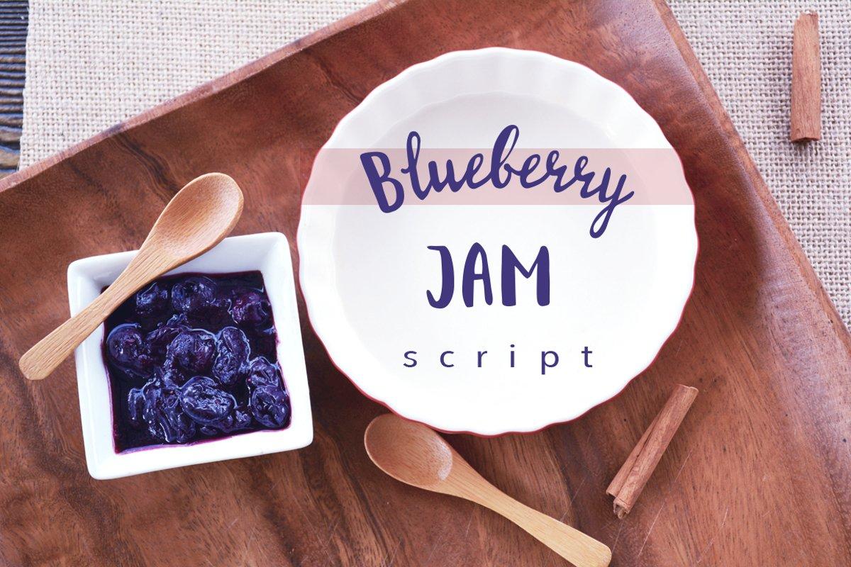 Blueberry Jam Script example image 1