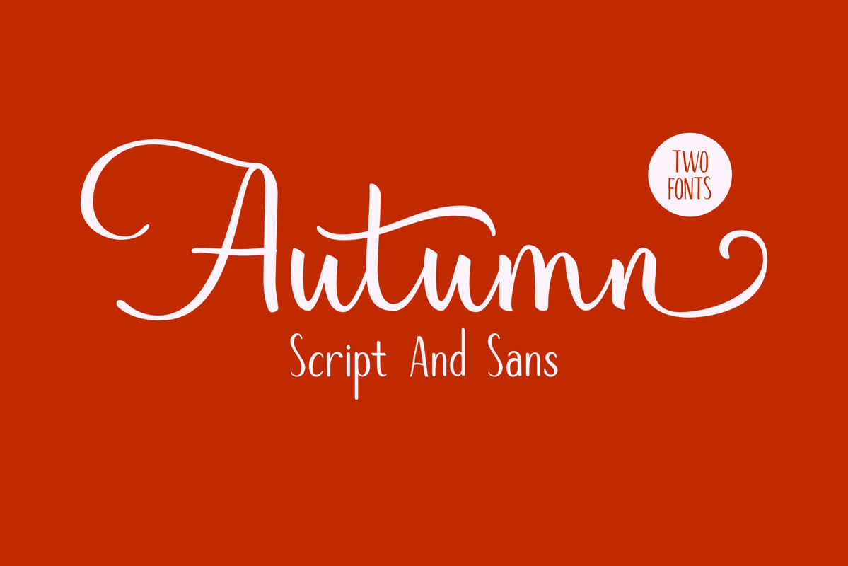 Autumn Mood // Font Duo example image 1
