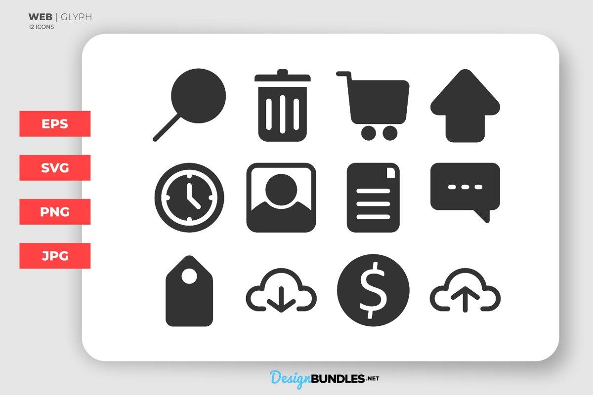 Web Glyph Icons example image 1