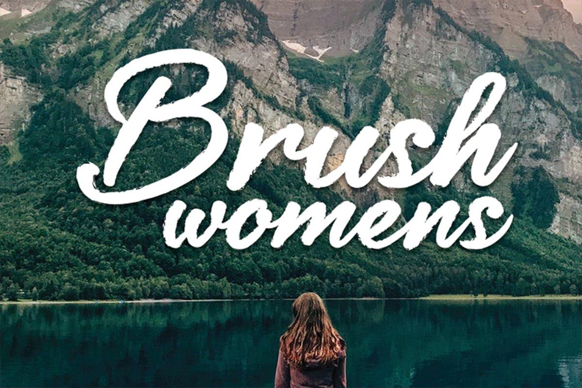 Brush womens example image 1