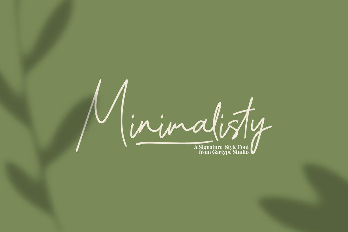Minimalisty example image 1