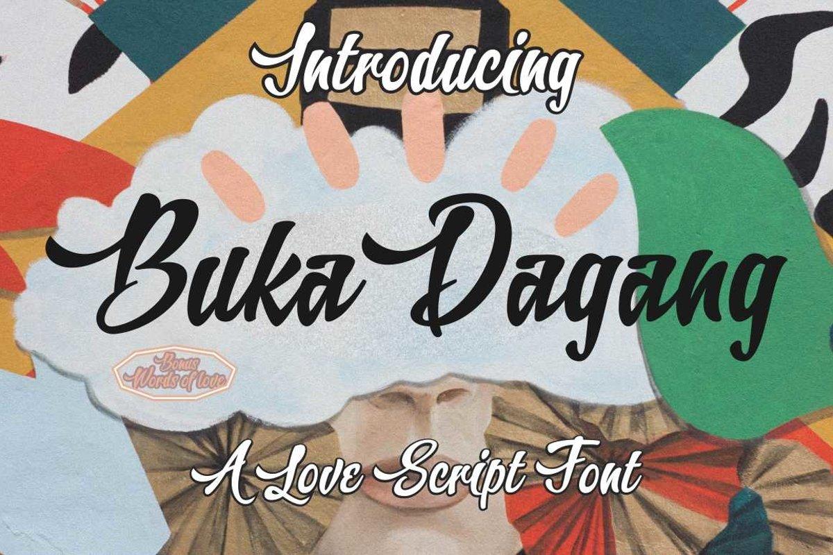 Buka Dagang example image 1
