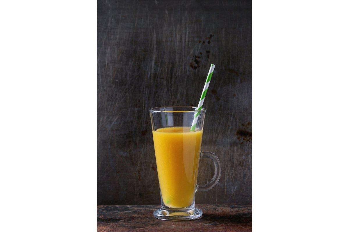 Fresh mango smoothie example image 1