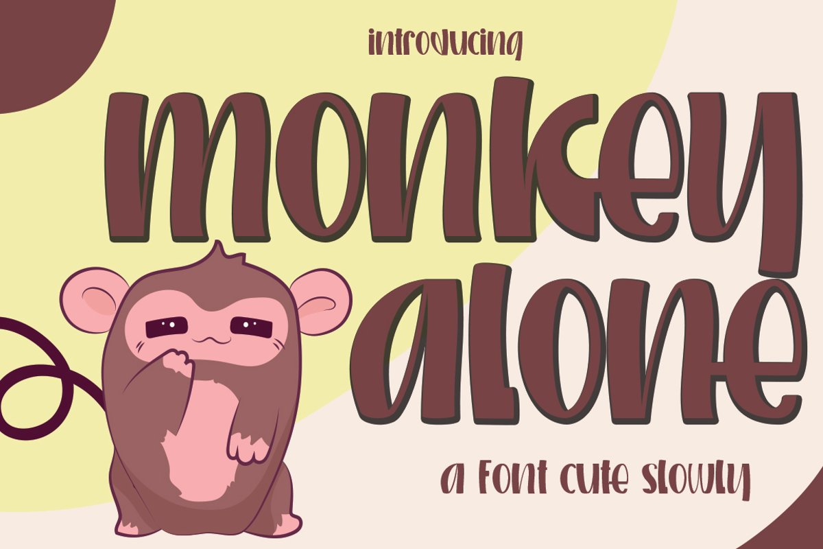 Monkey alone example image 1