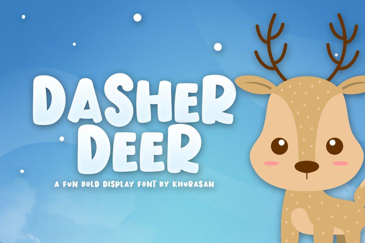 Dasher Deer example image 1