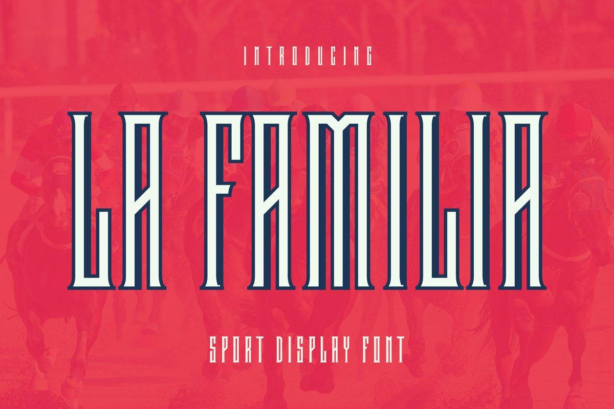 LaFamilia Font example image 1