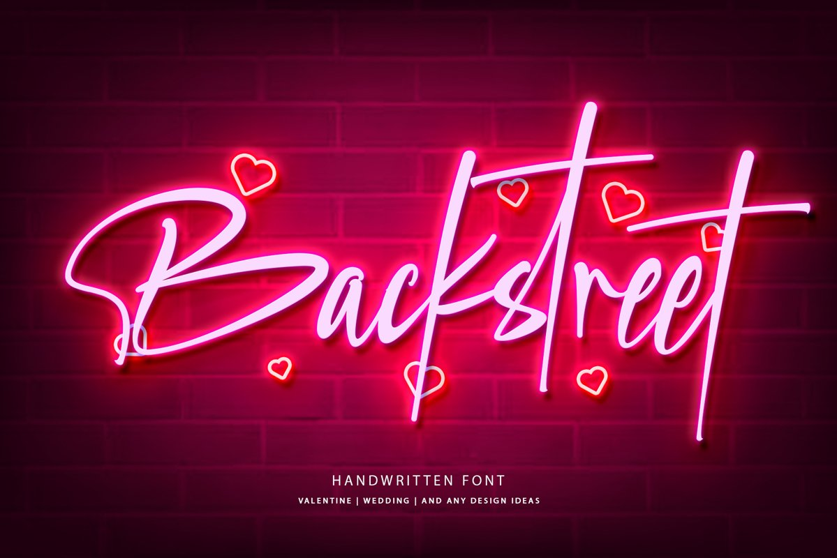 Backstreet example image 1