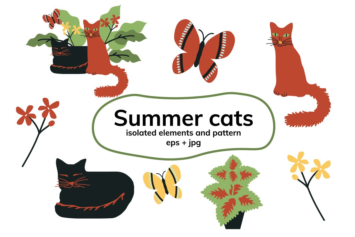 Summer cats example image 1