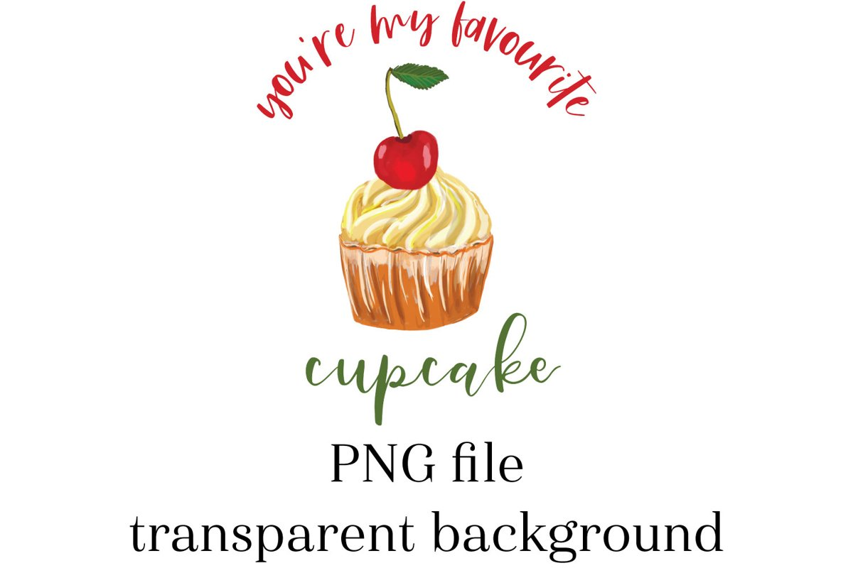 Cupcake Sublimation, sublimation cupcake, Cupcake PNG example image 1