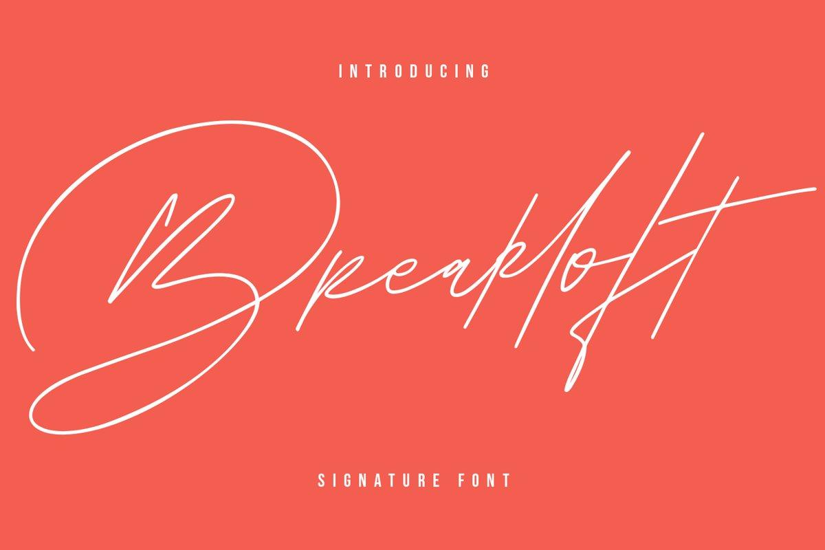 Breakloft Signature example image 1