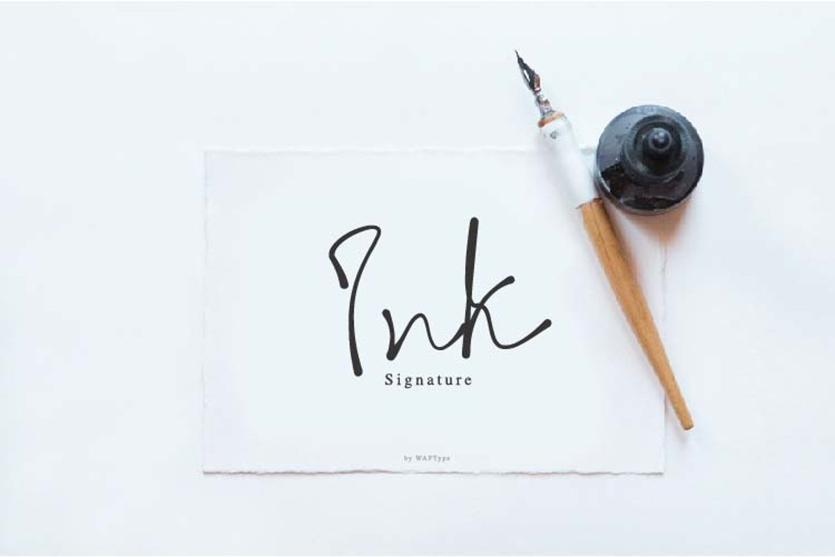 Ink signature example image 1