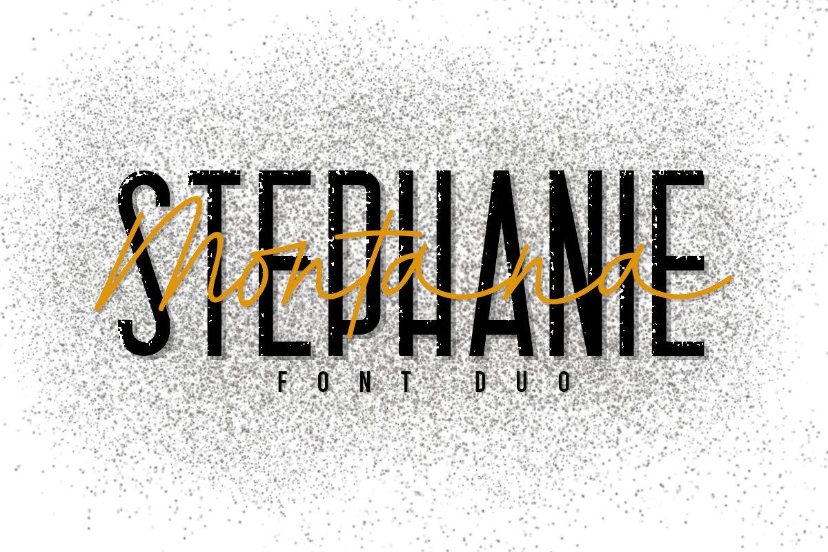 Stephanie Montana Font Duo example image 1