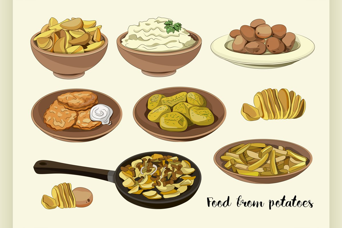 Food from potatoes example image 1