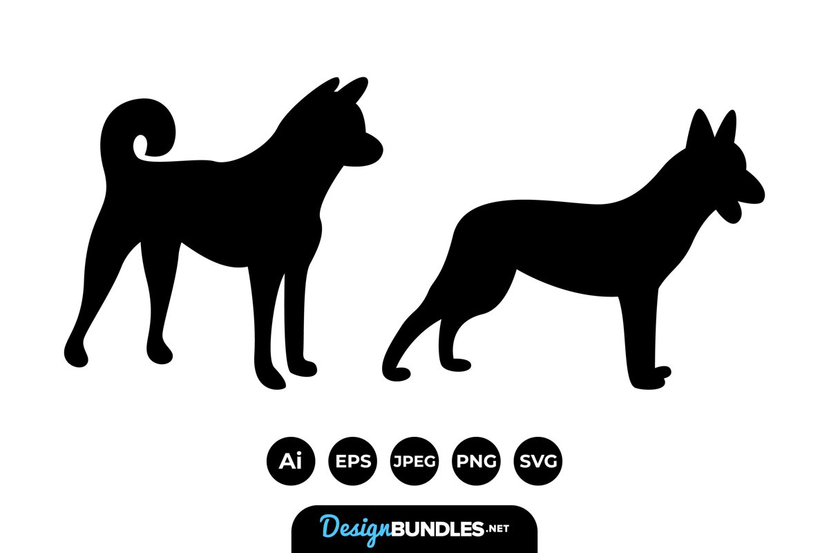 Dog Silhouettes example image 1