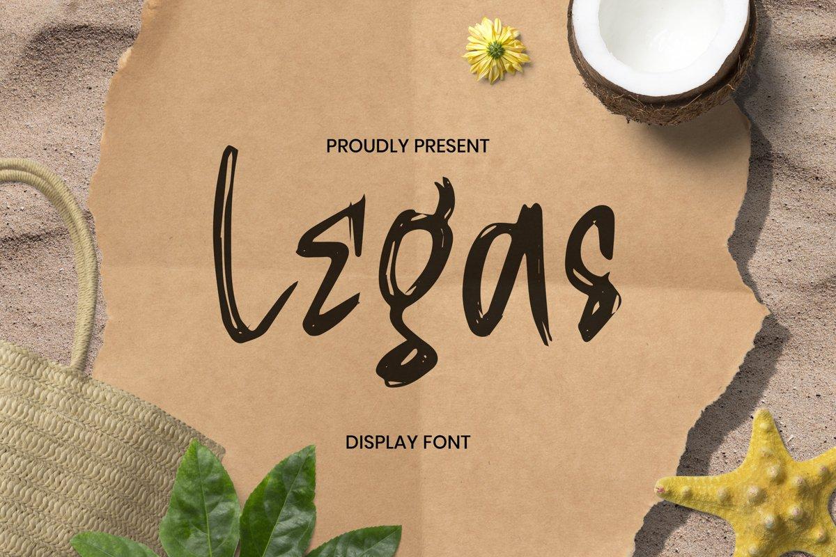 Legas Font example image 1