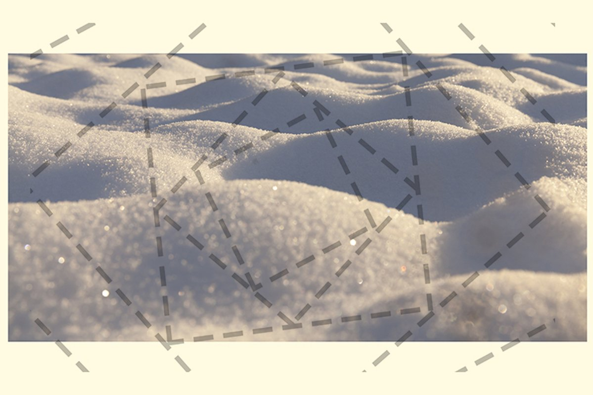 snow-covered rough surface close up example image 1