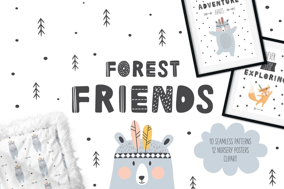 Forest Friends example image 1