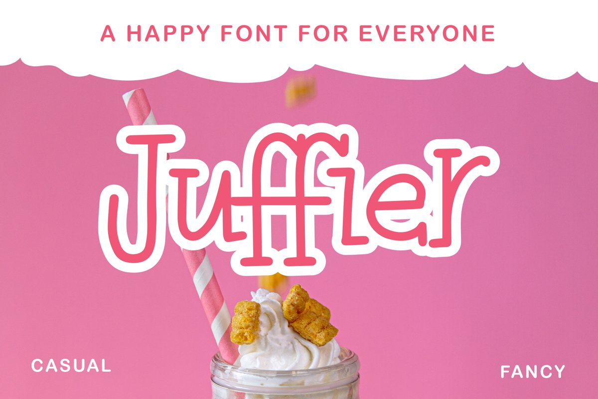 Juffier - Fancy Fonts example image 1