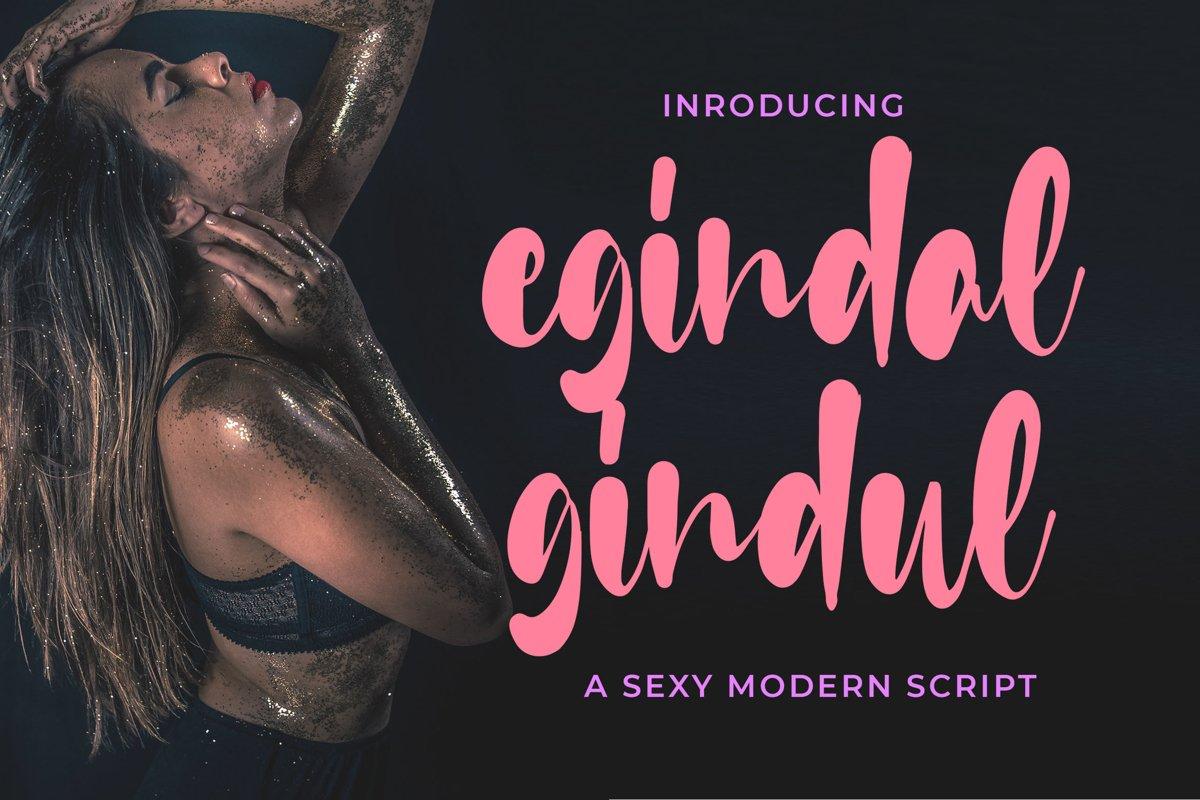 Egindal Gindul - Sexy Script example image 1