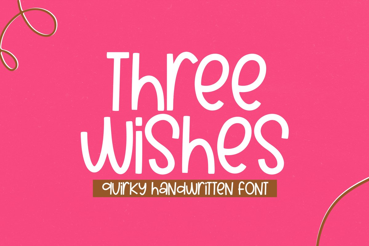 Three Wishes - A Quirky Handwritten Font example image 1