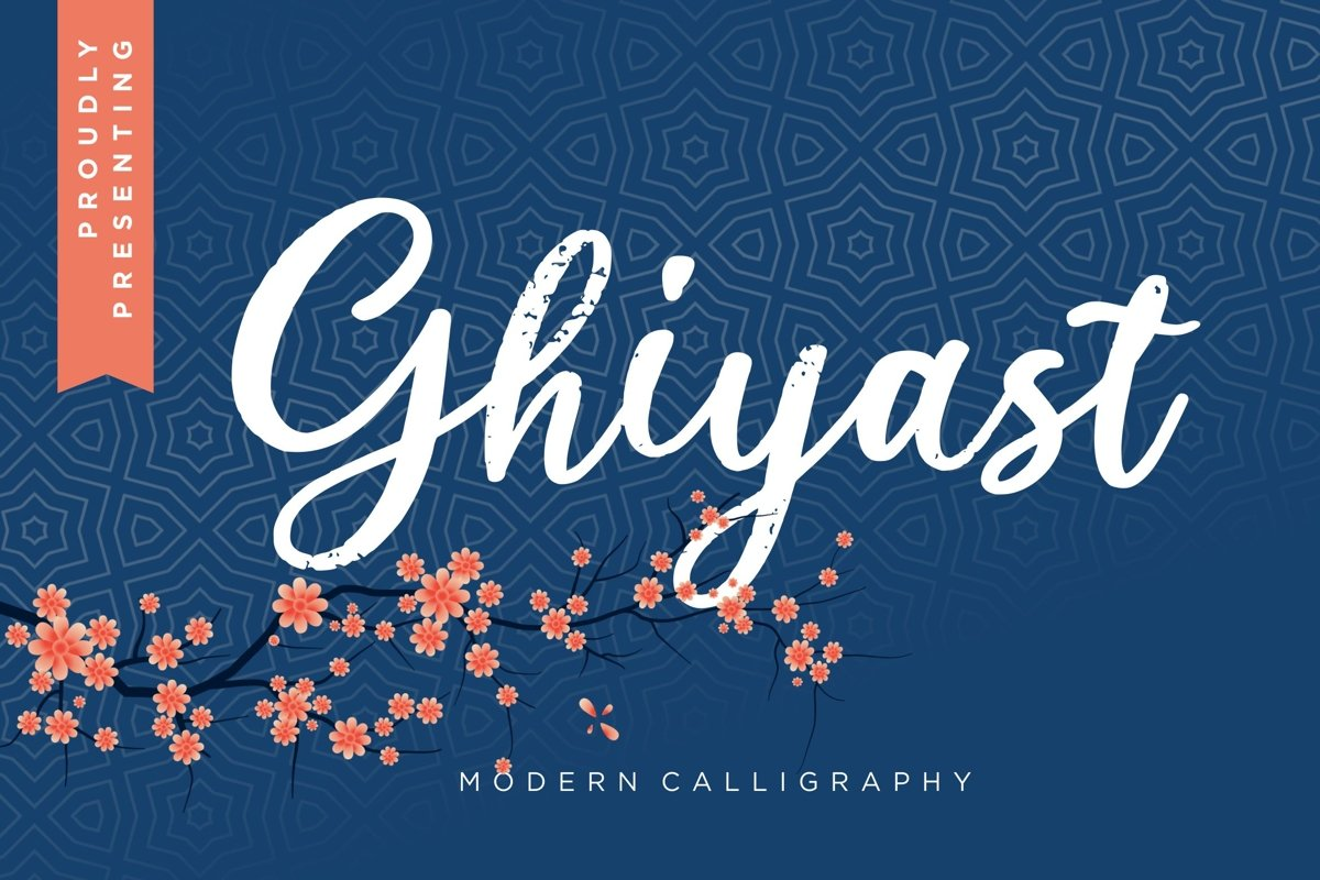 Ghiyast Modern Calligraphy example image 1
