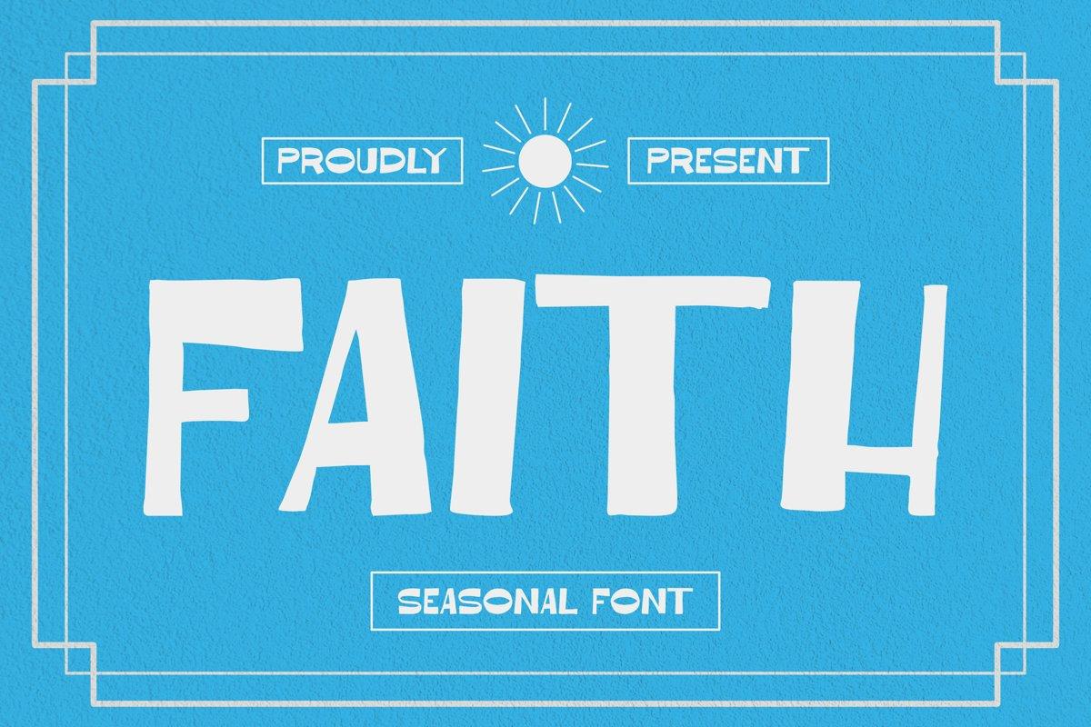 Faith Font example image 1