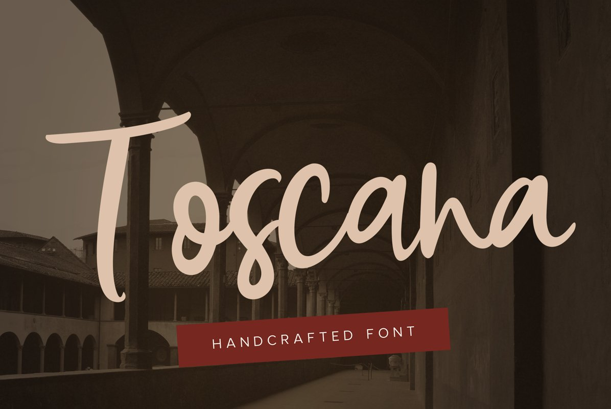 Toscana Font DUO example image 1