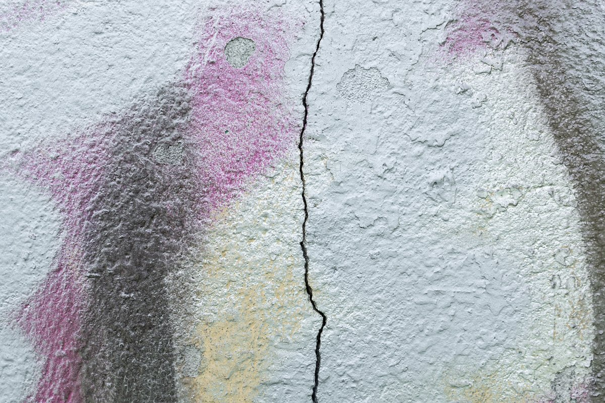 CRACK ON THE WALL example image 1