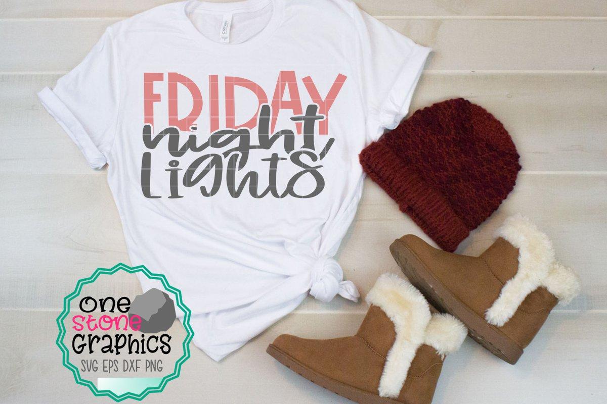 Friday night lights svg,football svg,football mom svg example image 1