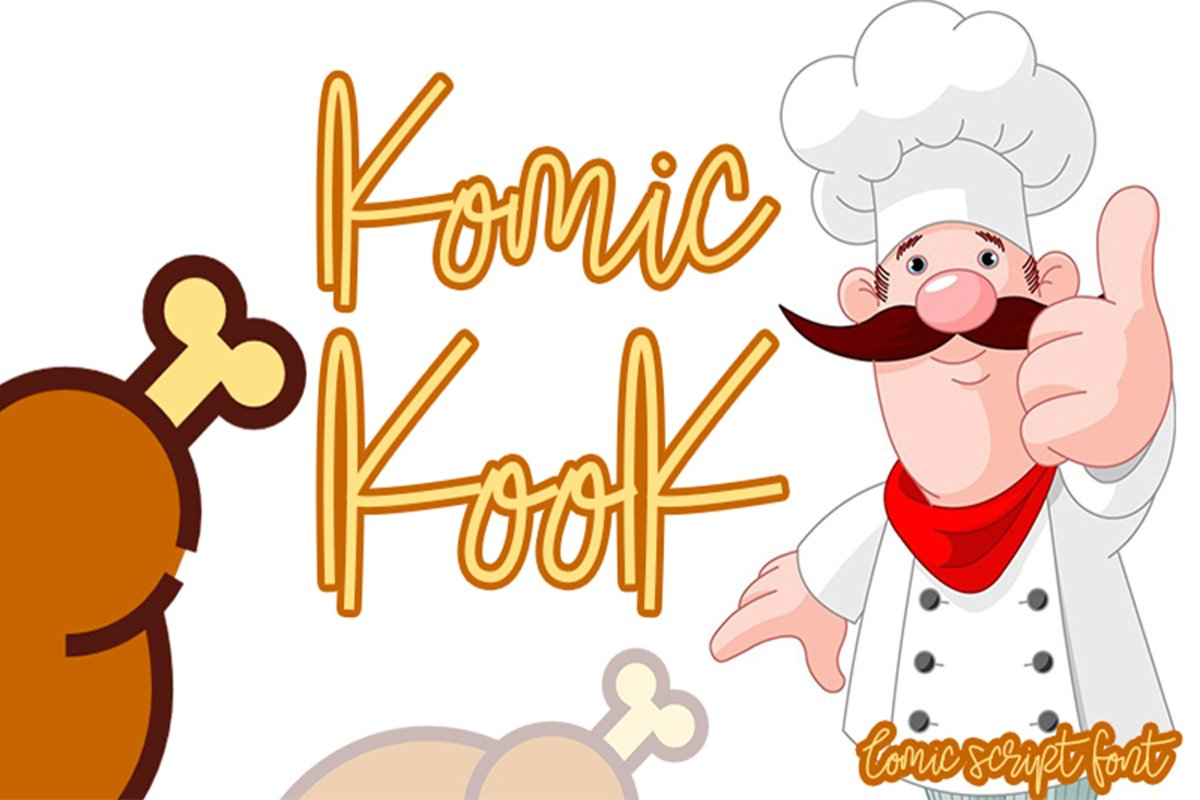Komic Kook example image 1